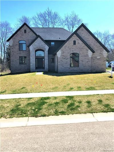 Rochester Hills, Rochester Single Family Home For Sale: 1971 Rosati Court
