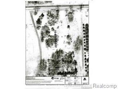 Oakland Twp Residential Lots & Land For Sale: Romeo