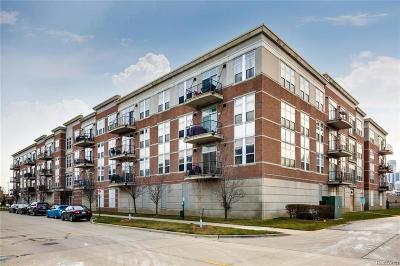 Detroit Condo/Townhouse For Sale: 66 Winder Street #453