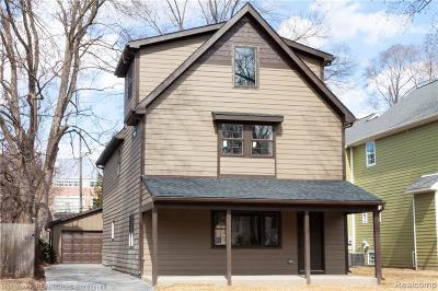 Royal Oak Single Family Home For Sale: 337 E Kenilworth Avenue