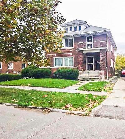 Detroit Multi Family Home For Sale: 5003 Whitfield Street