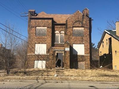 Detroit Multi Family Home For Sale: 18029 Schoenherr Street