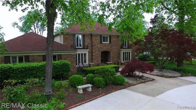 Bloomfield Twp Single Family Home For Sale: 3526 Ridgeview