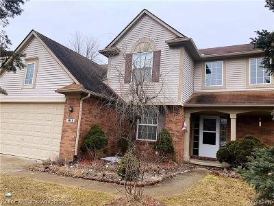 Canton, Canton Twp Single Family Home For Sale: 1668 Nowland Court