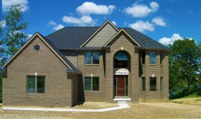 Single Family Home For Sale: 5479 Morgan Lake Drive