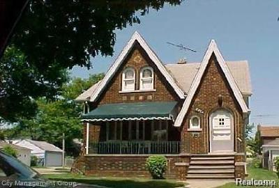 Detroit Single Family Home For Sale: 3964 Yorkshire Road