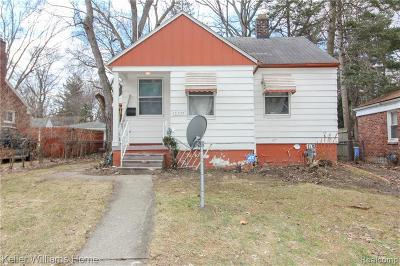 Detroit Single Family Home For Sale: 18235 Fenton Street