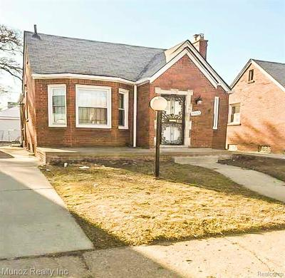Detroit Single Family Home For Sale: 8843 Coyle Street