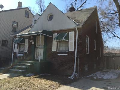Detroit Single Family Home For Sale: 9211 Ward Street