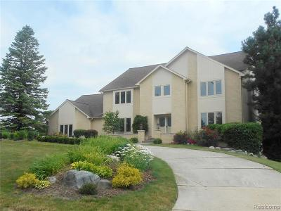 Bloomfield Twp Single Family Home For Sale: 4145 E Golf Ridge Drive