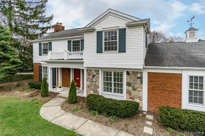 Bloomfield Twp Single Family Home For Sale: 315 Hamilton Road