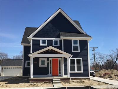 Royal Oak Single Family Home For Sale: 114 N Dorchester Avenue