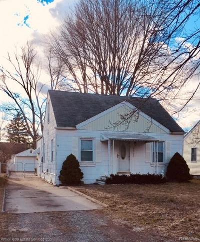 Southfield Single Family Home For Sale: 21793 Negaunee Street