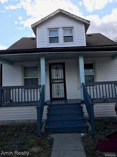 Detroit Single Family Home For Sale: 13141 McDougall Street