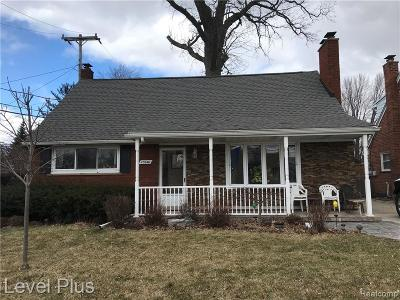Dearborn Single Family Home For Sale: 23840 Yale Street