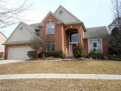 Wixom Single Family Home For Sale: 1182 S Creek Drive