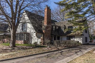 Birmingham Single Family Home For Sale: 508 Linden Road