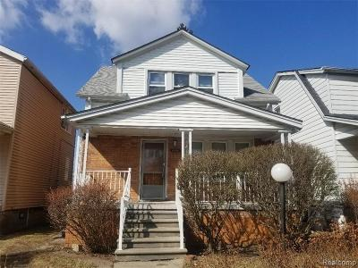 Detroit Single Family Home For Sale: 18061 Wexford Street