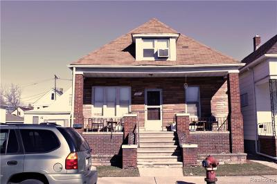 Hamtramck MI Single Family Home Pending: $79,900