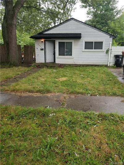 Detroit Single Family Home For Sale: 6393 Forrer Street
