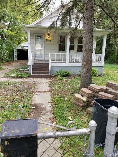 Detroit Single Family Home For Sale: 6330 Grandville Avenue