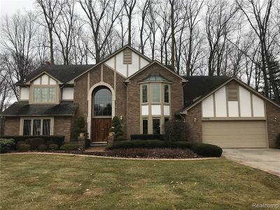 Macomb County Single Family Home For Sale: 37208 Woodpointe Drive
