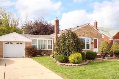 Allen Park Single Family Home For Sale: 8920 Niver Avenue