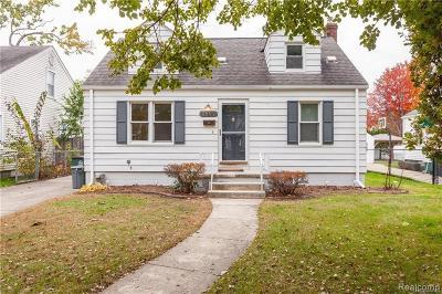 Royal Oak Single Family Home For Sale: 1507 Ferris Avenue