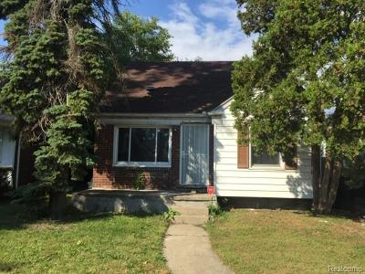 Wayne County Single Family Home For Sale: 20113 Stansbury Street S
