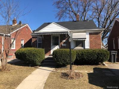 Wayne County Single Family Home For Sale: 18296 Wood Street