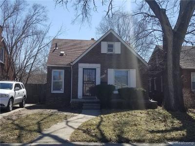Detroit Single Family Home For Sale: 15612 Spring Garden Street