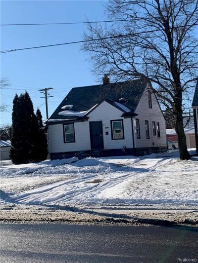 Detroit Single Family Home For Sale: 20401 Schaefer Highway