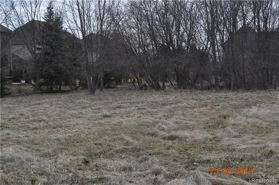 Oakland Twp Residential Lots & Land For Sale: 533 Parkland Hills Drive