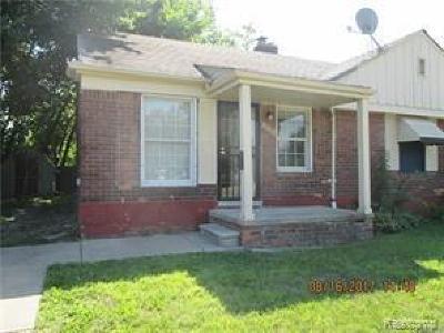 Detroit Single Family Home For Sale: 19128 Moross Road