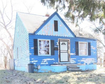 Detroit Single Family Home For Sale: 15410 Rossini Drive