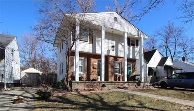 Detroit Single Family Home For Sale: 19940 Strasburg Street