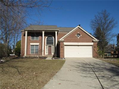 Farmington Hills Single Family Home For Sale: 37976 Glengrove Drive