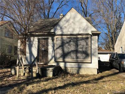 Single Family Home For Sale: 18517 Heyden Street