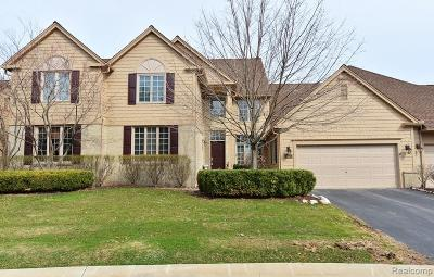 Bloomfield Twp Condo/Townhouse For Sale: 611 Windsor Run