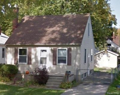 Ypsilanti Single Family Home For Sale: 2030 McKinley Ave.