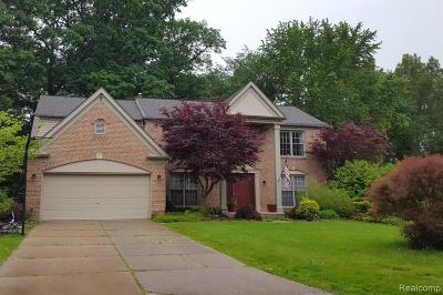 Farmington Hills Single Family Home For Sale: 37853 Glengrove Drive