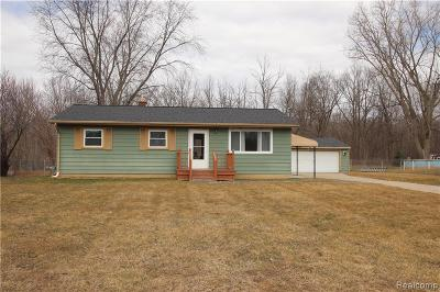 Genesee Twp Single Family Home For Sale: 6191 Finch Lane