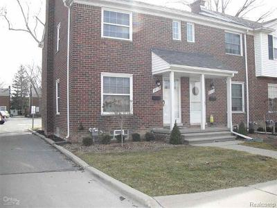 St. Clair Shores Condo/Townhouse For Sale: 23112 Marter Road