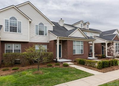 Walled Lake Condo/Townhouse For Sale: 11203 Lindsey Court