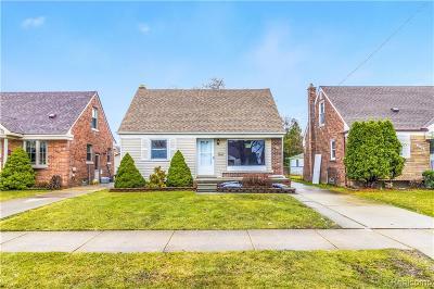 Allen Park Single Family Home For Sale: 9895 Park Avenue