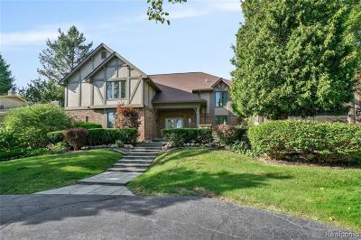 West Bloomfield Twp Single Family Home For Sale: 2942 Bloomfield Park Drive