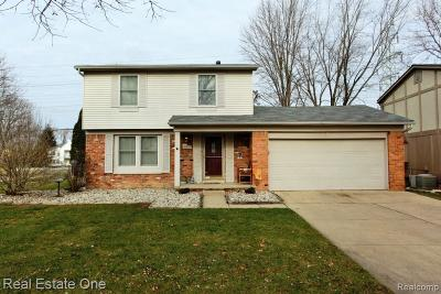 Canton, Canton Twp Single Family Home For Sale: 41878 Ravenwood Street