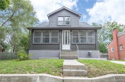 Royal Oak Single Family Home For Sale: 3408 Durham Road