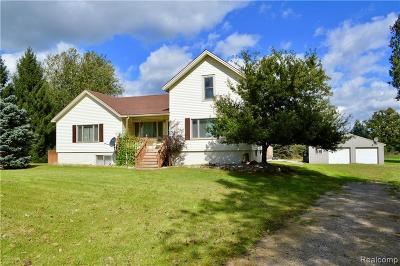 Single Family Home For Sale: 6893 Webster Road N