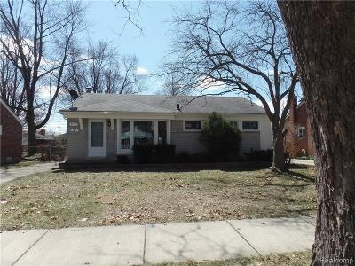Livonia Single Family Home For Sale: 31121 Westfield Street